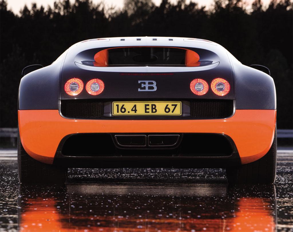 Фото Bugatti Veyron Super Sport