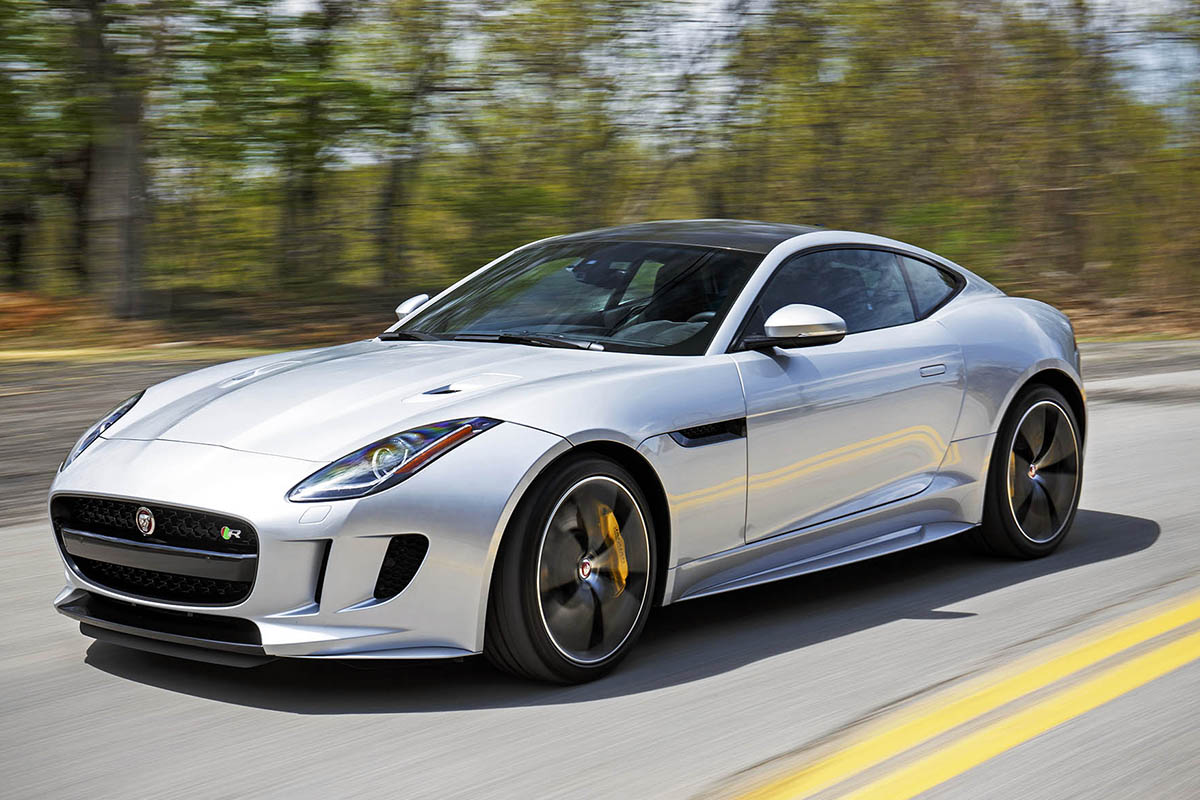 Фото Jaguar F-Type R Coupe