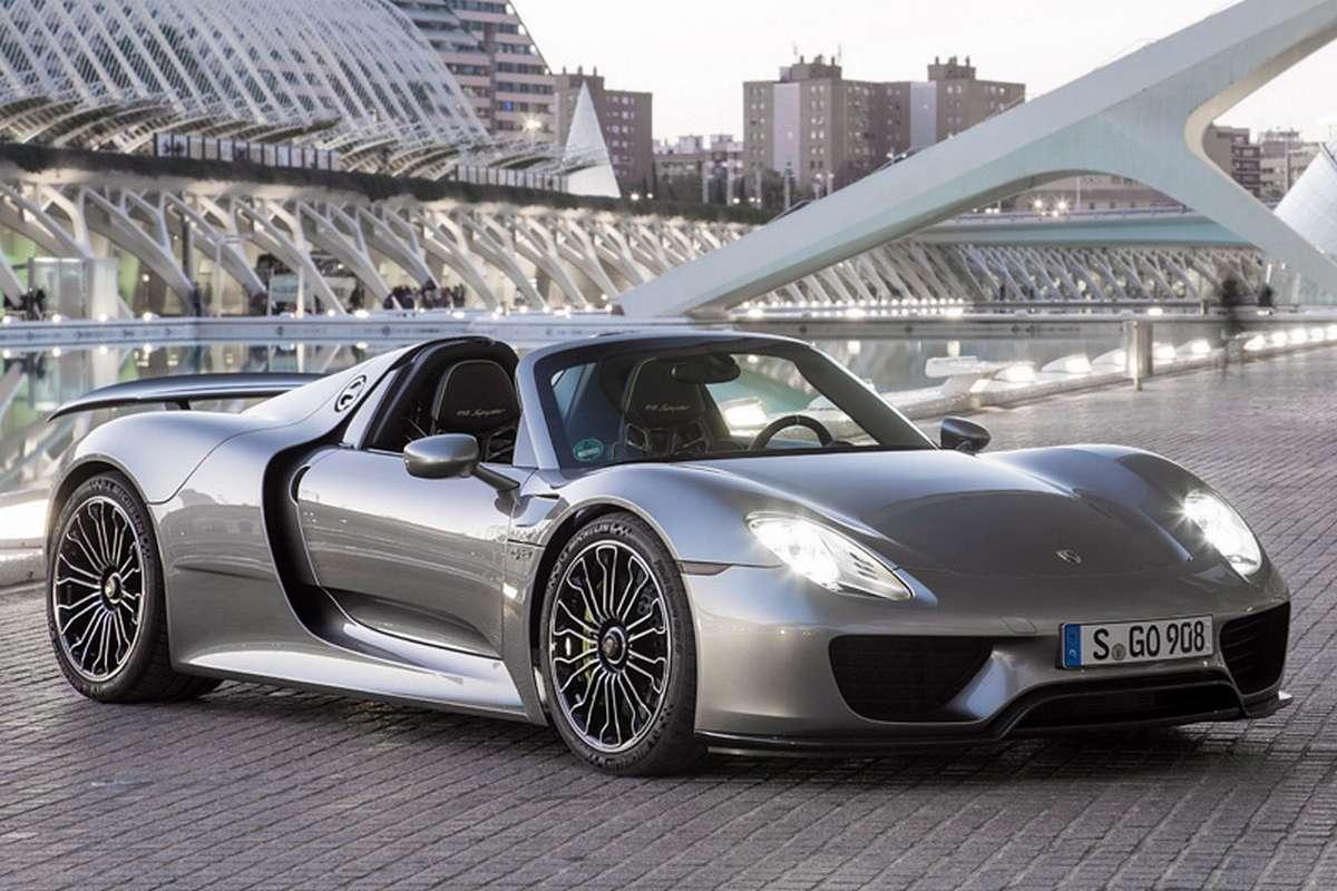 Фото Porsche 918 Spyder