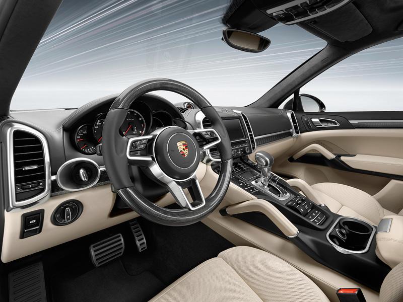 Фото Porsche Cayenne Turbo S