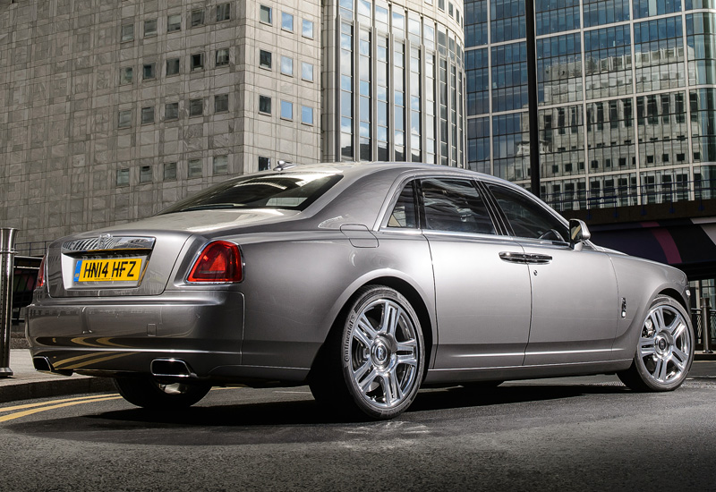 Фото Rolls Royce Ghost Series II