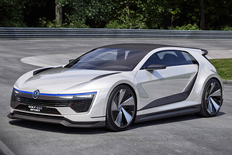 Фото Volkswagen Golf GTE Sport Concept